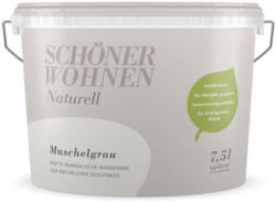 Schöner Wohnen Farbe Naturell Muschelgrau 7,5 L