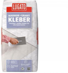 Lugato Natursteinfliesenkleber Marmor+Granit, 20 kg
