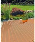 BayWa Bau- & Gartenmärkte Terrassendiele WPC, braun 2,4x14,5x200 cm