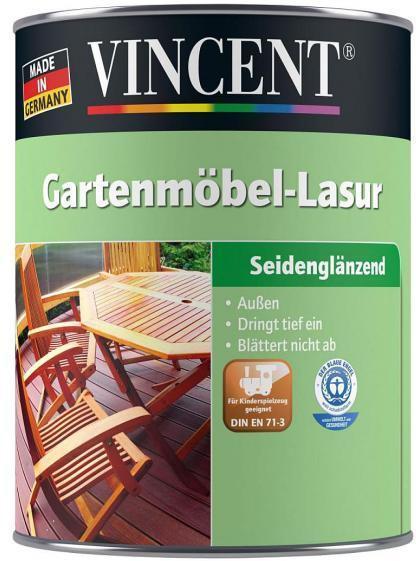 Vincent Gartenmobel Lasur Farblos 2 5 L
