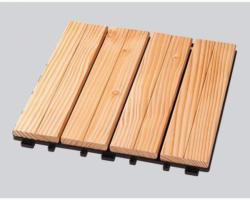 Rettenmeier Klick-Holzfliese Douglasie, 25x300x300, 4 Stück