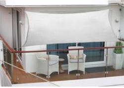 Balkonsonnensegel, Polyester, 270x140 cm