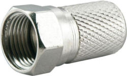 Schwaiger F-Stecker, 8 mm, 2 Stück