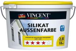Vincent Silikat Außenfarbe, 2,5 l