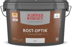 Schöner Wohnen Farbe Rost-Optik Grundfarbe Rost, 2,5l