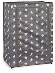 Textiler Schuhschrank, klein, Sternendekor, 83x60x40 cm