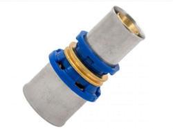 Kirchhoff Verbindungsstück, reduzierend, Pressfitting für Mehrschicht-Verbundrohr, 26x20 mm