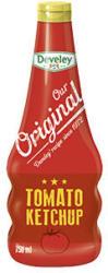 Develey Our Original Tomaten Ketchup jede 750-ml-Flasche