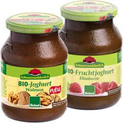 Schwarzwaldmilch Bioland Fruchtjoghurt versch. Sorten, jedes 500-g-Glas