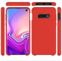 PEDEA Handytasche »Liquid Silicone Case für Samsung Galaxy S10e«