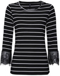 Damen-Sweatshirt mit Ringelmuster