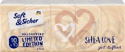 Soft&Sicher Taschentücher Shea Love (10x10 Stück)