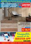 Quester Baustoffhandel GmbH Quester Flugblatt 04.04. bis 20.04. Keramik Innsbruck & Graz - bis 20.04.2019