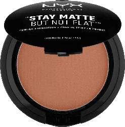 NYX PROFESSIONAL MAKEUP Make-Up Stay Matte But Not Flat Powder Foundation Cocoa 19