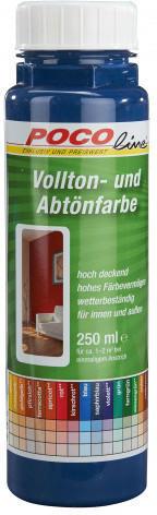 Vollton- und Abtönfarben saphirblau250 ml