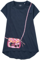 Mädchen T-Shirt mit Taschen-Print