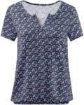 Ernsting's family Damen T-Shirt mit Allover-Print