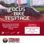 SPORT 2000 Lieb Markt SPORT 2000 Lieb Markt - FOCUS Bike Testtage - bis 16.04.2019