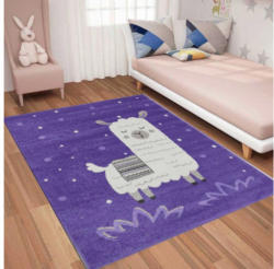 Teppich Bino ca. 160 x 230 cm Lama lila