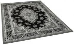 Teppich Samira ca. 200 x 280 cm schwarz-weiß