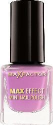 Max Factor Nagellack Max Effect Mini Nail Polish Diva Violet 8