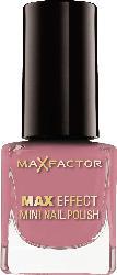 Max Factor Nagellack Max Effect Mini Nail Polish Candy Rose 50