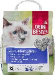 dm-drogerie markt Dein Bestes Katzenstreu, Ultra-Klumpstreu naturweiß