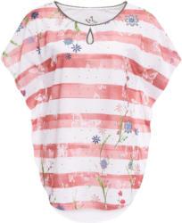 Damen Cape-Shirt im Streifen-Look