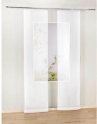 Schiebevorhang Pearl, weiß, ca. 60 x 245 cm