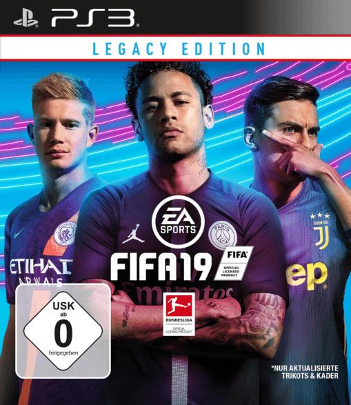PlayStation 3 Spiele - FIFA 19 Legacy Edition [PlayStation 3]