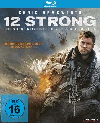 Blu-ray Abenteuer- & Actionfilme - 12 Strong - Die wahre Geschichte der US-Horse Soldiers [Blu-ray]