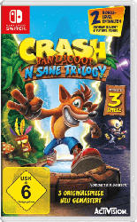 Nintendo Switch Spiele - Crash Bandicoot N. Sane-Trilogie [Nintendo Switch]