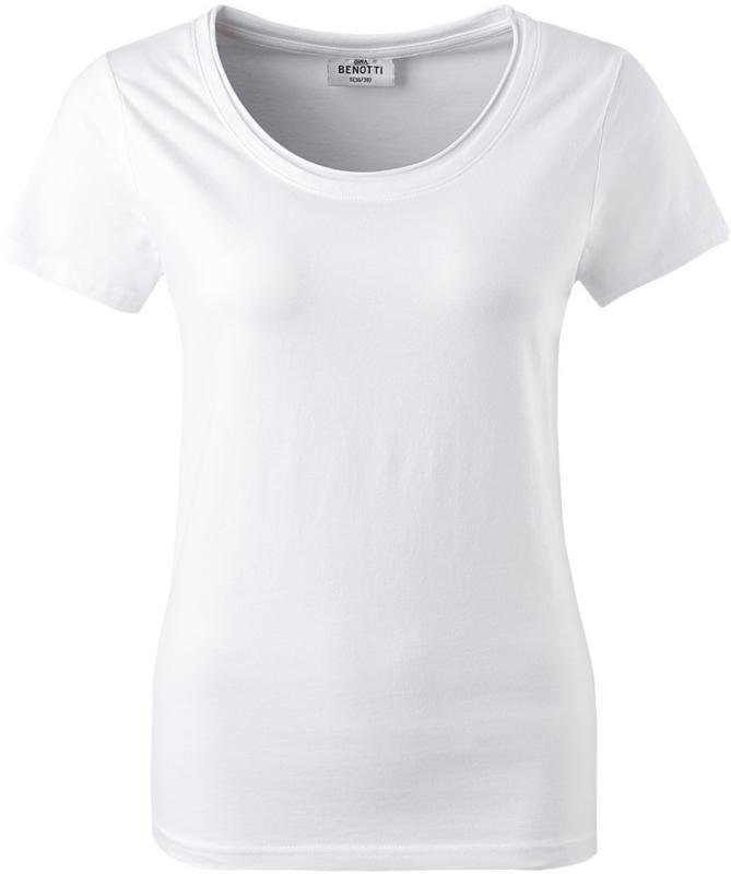 Damen T-Shirt in Weiß