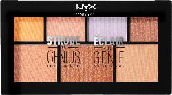 NYX PROFESSIONAL MAKEUP Highlighter Strobe Of Genius Illuminating Palette