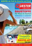 Quester Baustoffhandel GmbH Quester Flugblatt 04.04. bis 20.04. Baustoffe & Keramik - bis 20.04.2019