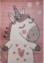 Teppich Bino ca. 160 x 230 cm Einhorn pink