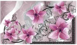 Fototapete Orchidee rosa