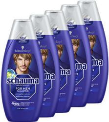 Schauma Shampoo versch. Sorten, jede 5 x 400-ml-Packung