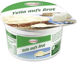Hochwald Yella Brotaufstrich natur 28 % Fett absolut, jeder 200-g-Becher