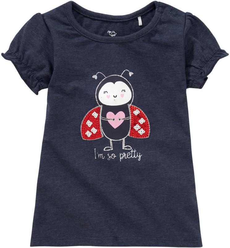 Baby T-Shirt mit Pailletten