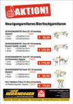 HERRNEGGER Baustoffhandel GmbH Heurigengarnituren 2019 - bis 30.09.2019