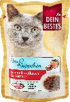 dm-drogerie markt Dein Bestes Das Süppchen,Snack für Katzen, reines Rindfleisch und Tomate