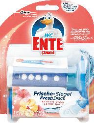 WC-Ente WC-Reiniger-Siegel Original Blüten-Oase