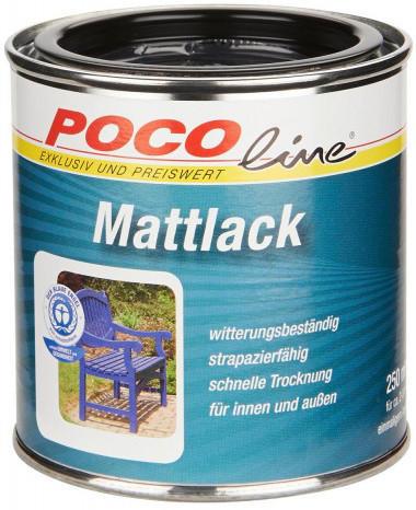 Mattlack 2 in 1 tiefschwarz (RAL 9005)250 ml