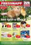 Fressnapf Bunte Vielfalt zu Ostern - bis 20.04.2019
