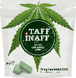 SWISS CANNABIS GUM Taff Inaff Cannabis Gum