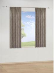 Dekoschal Paradiso, taupe, ca. 140 x 175 cm, 2er Pack