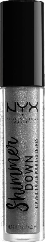 NYX PROFESSIONAL MAKEUP Lipgloss Shimmer Down Lip Veil goth love 10