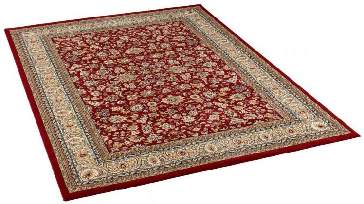 Teppich orientgemustert ca. 200 x 290 cm rot
