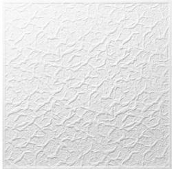Styropor Deckenplatte Genova ca. 50 x 50 cm weiß